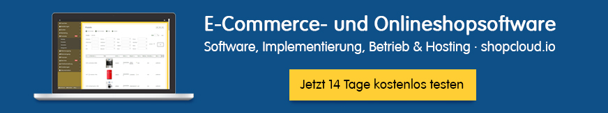 Online Shop in der Shopcloud